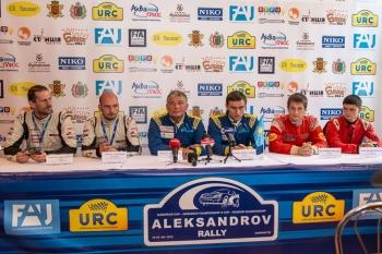 «Александров Ралі»: офіційна прес-конференція